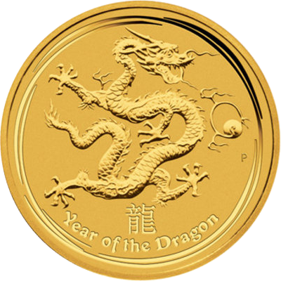 Year of the Dragon 2012 - 1/10 oz